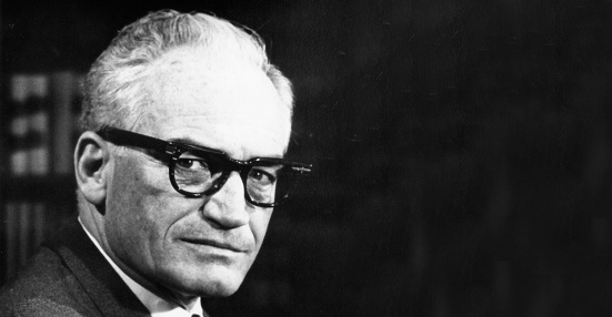 Portrait of politician Barry Goldwater