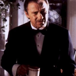 Harvey Keitel in Pulp Fiction as The Wolf