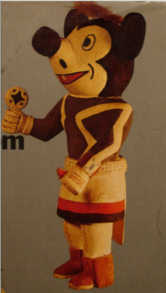 The Gospels Of A Mickey Mouse Kachina Doll A Fragile Dignity